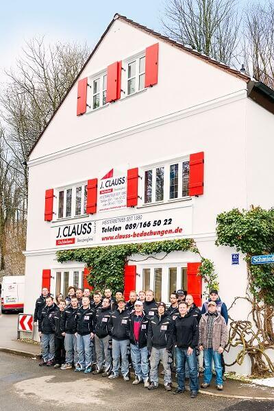 Clauss Bedachungen Dachdecker München