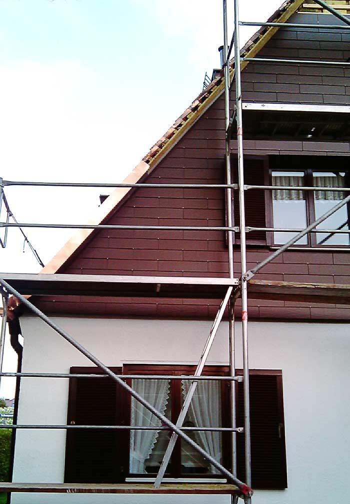 Dachdecker Muenchen Faserzementplattendeckung