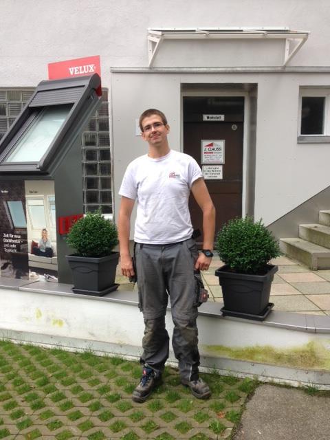 Dachdecker München - Auszubildende