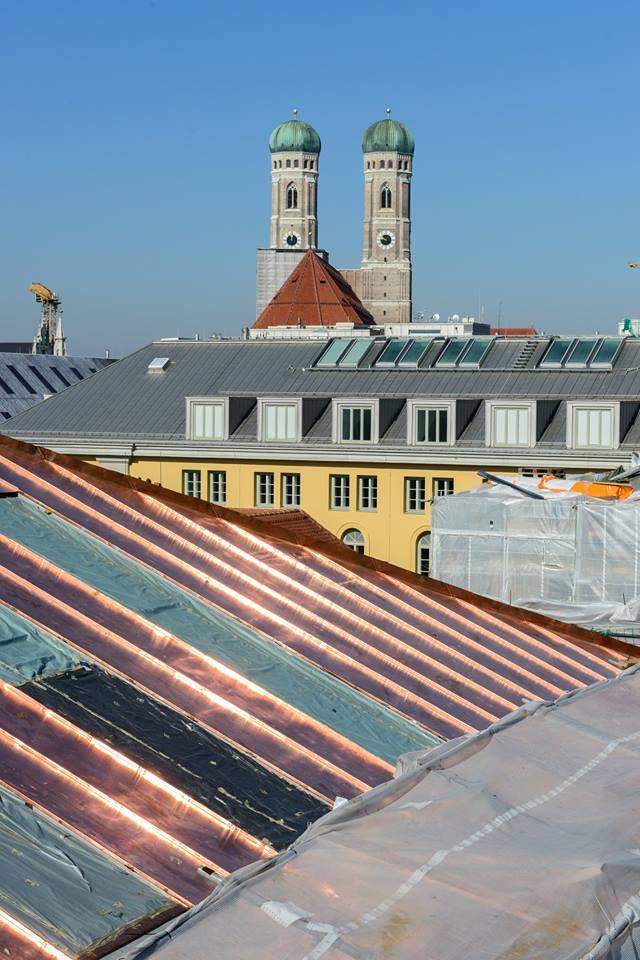 Großprojekt 2016 Dachdecker München