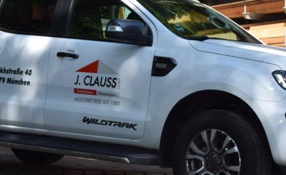 Claus Bedachungen Fuhrpark - Kopie