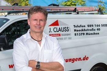 Clauss Bedachungen Mitarbeiter Reinhard Clauss