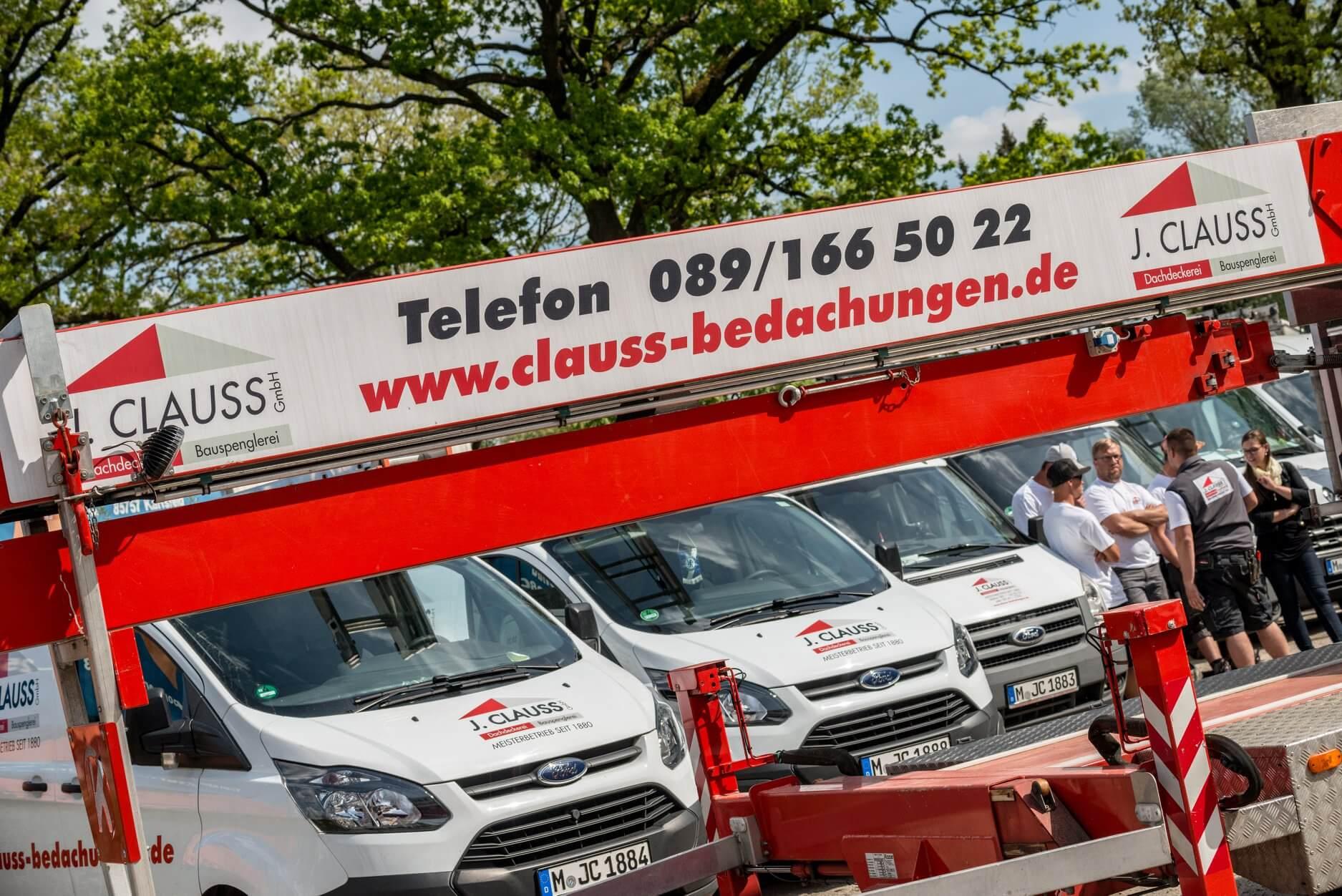 Dachdecker München - Clauss Bedachungen - Fotoshooting
