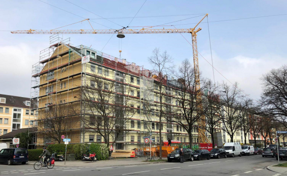 Dachsanierung mit Wärmedämmung in München-Sendling - Dackdecker München - Clauss GmbH