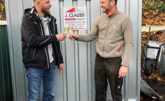 clauss bedachungen - materialrest24